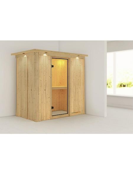 Sauna »Pärnu«, ohne Ofen
