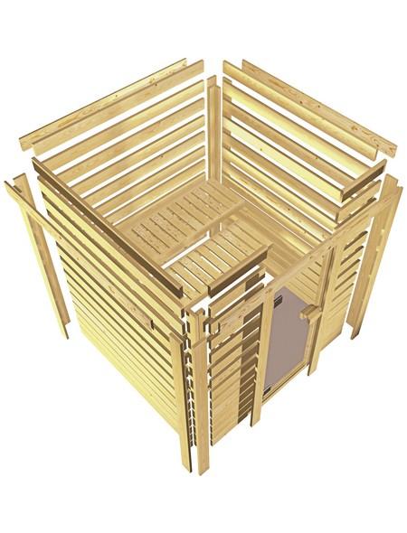 Sauna »Baldohn«, ohne Ofen
