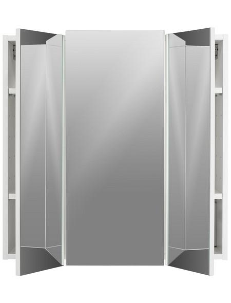 Spiegelschrank Walnuss BxH: 68 cm x 71 cm