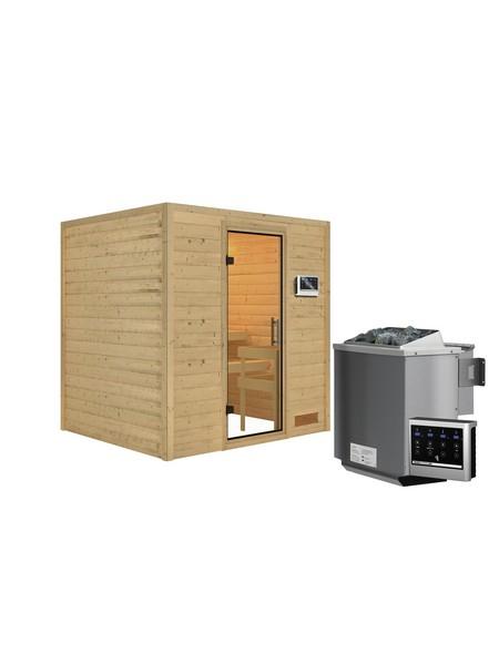 Sauna »Anja«, mit Ofen, externe Steuerung