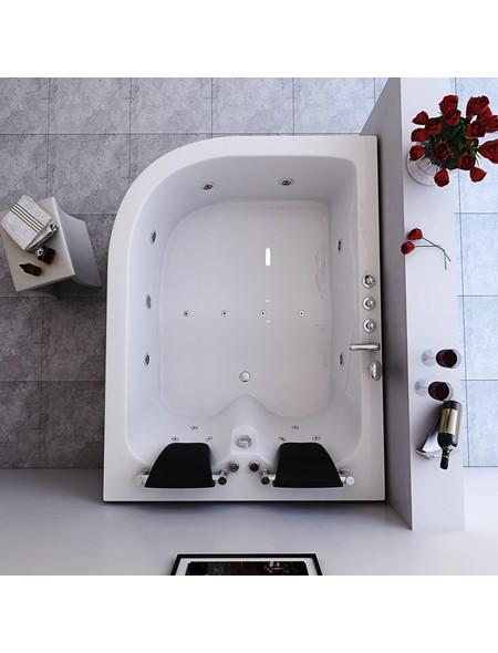 Whirlpool für 2 Personen, BxTxH: 180x120x65 cm