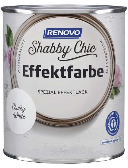 Effektlack »Shabby Chic«, Chalky White, seidenmatt