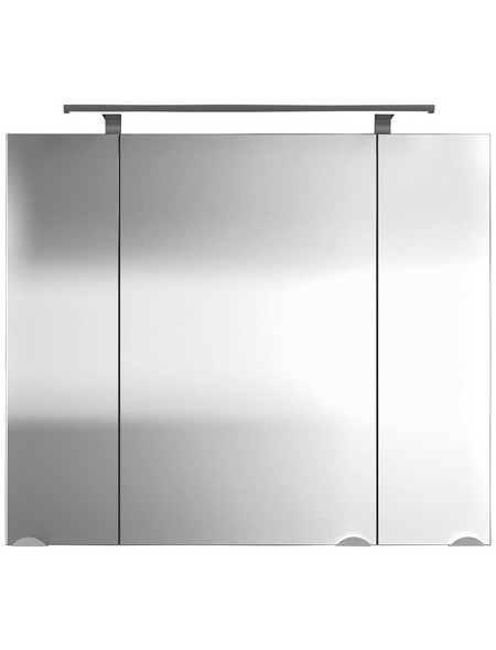 Spiegelschrank »Multi-Use«, Walnuss BxH: 80 cm x 68 cm