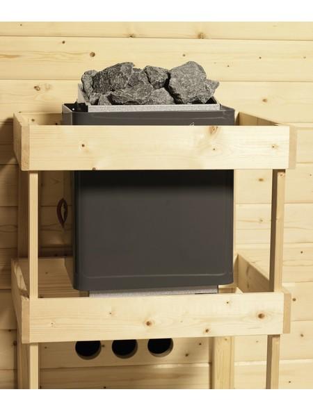 Saunahaus »Birka 2 «, B x T: 231 x 231 cm, ohne Ofen