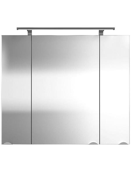 Spiegelschrank »Multi-Use«, Walnuss BxH: 80 cm x 68 cm