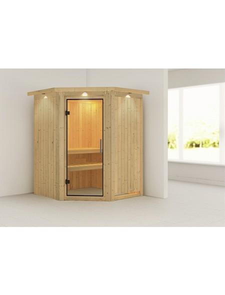 Sauna »Wolmar«, ohne Ofen