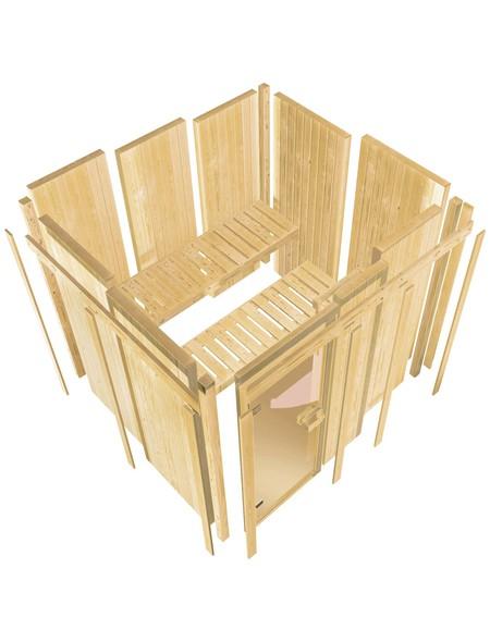 Sauna »Keila«, ohne Ofen