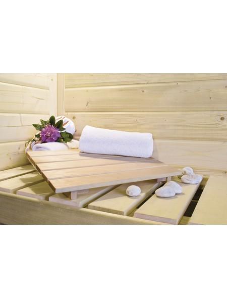 Sauna »Wolmar«, mit Ofen, externe Steuerung
