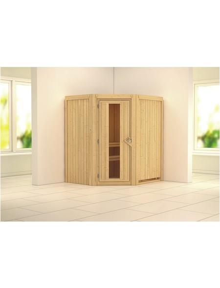 Sauna »Tuckum«, ohne Ofen