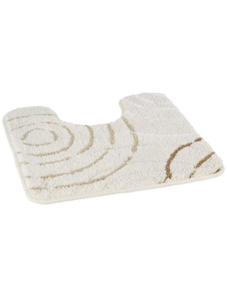 WC-Vorleger »Splash«, beige, BxL: 50cm x 50cm