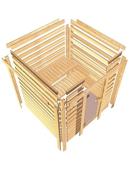 Sauna »Mia«, ohne Ofen