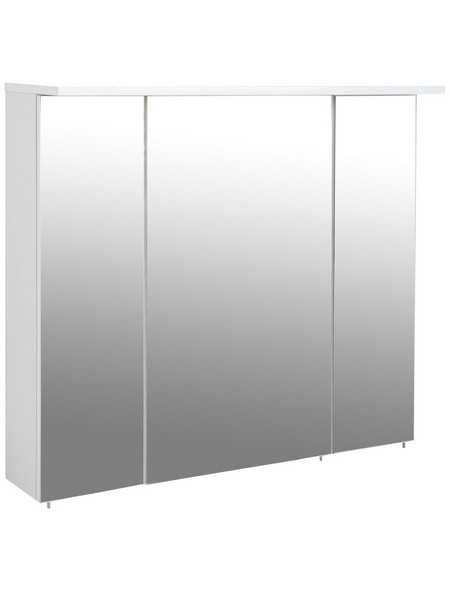 Spiegelschrank »Profil«, Weiß BxH: 70 cm x 72,5 cm