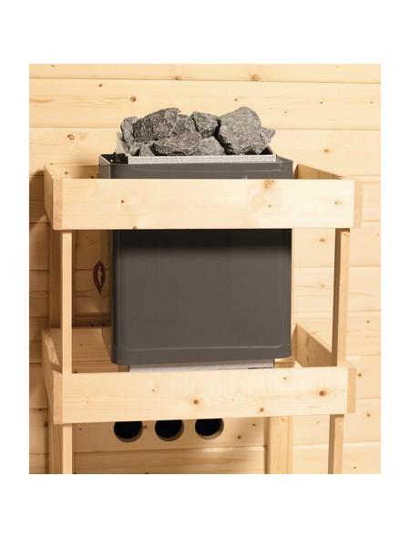 Sauna »Haaspsalu«, mit Ofen, externe Steuerung