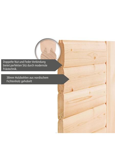 Sauna »Svea«, mit Ofen, integrierte Steuerung