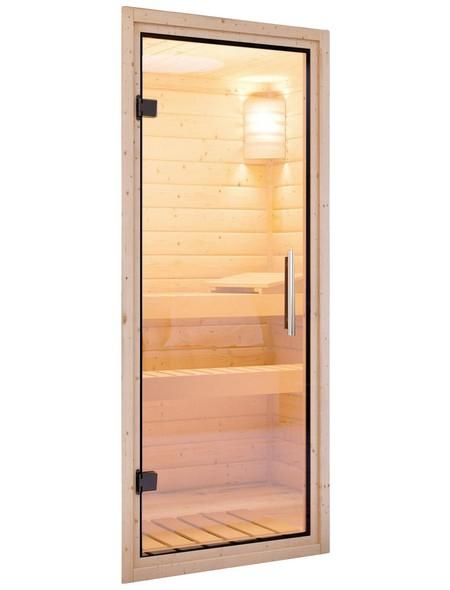 Sauna »Kothla«, mit Ofen, externe Steuerung