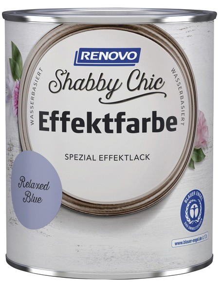 Effektlack »Shabby Chic«, Relaxed Blue, seidenmatt