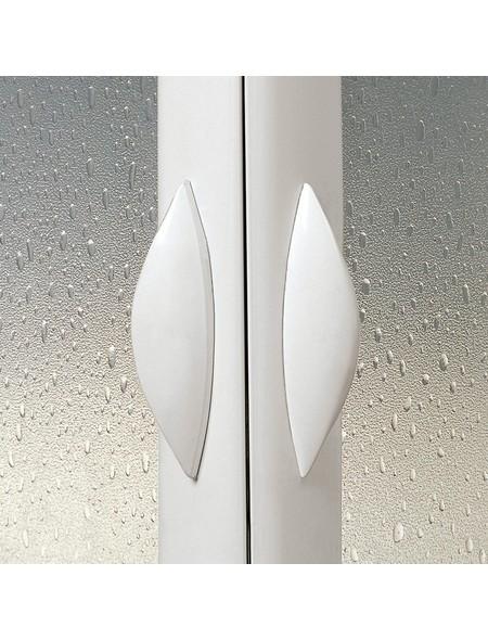 Eckdusche »Vela«, BxTxH: 80x80x185 cm