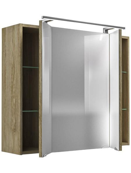 Spiegelschrank »Sonoma«, Eiche BxH: 80 cm x 68 cm