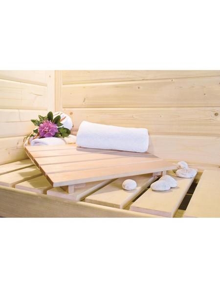 Sauna »Vöru«, mit Ofen, integrierte Steuerung