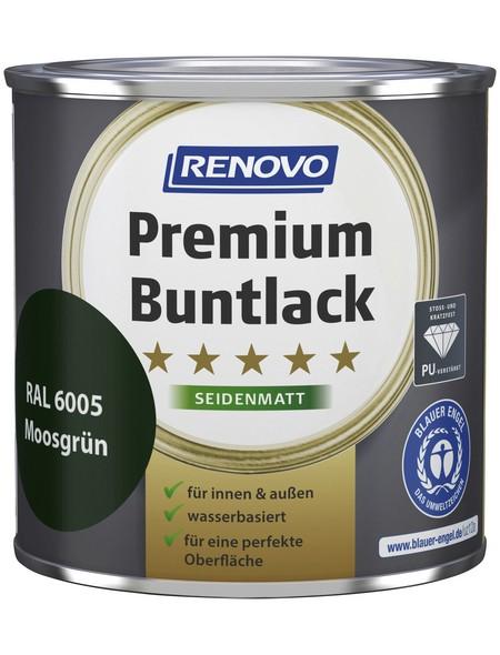 Buntlack »Premium«, Moosgrün, seidenmatt